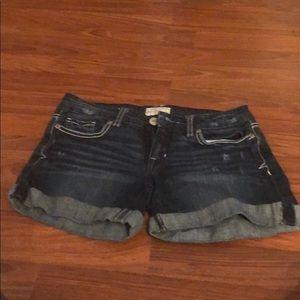 CUTE distressed denim shorts! Hardly worn!